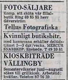 Mercur-annons