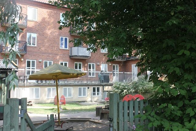 Blåsutgården
