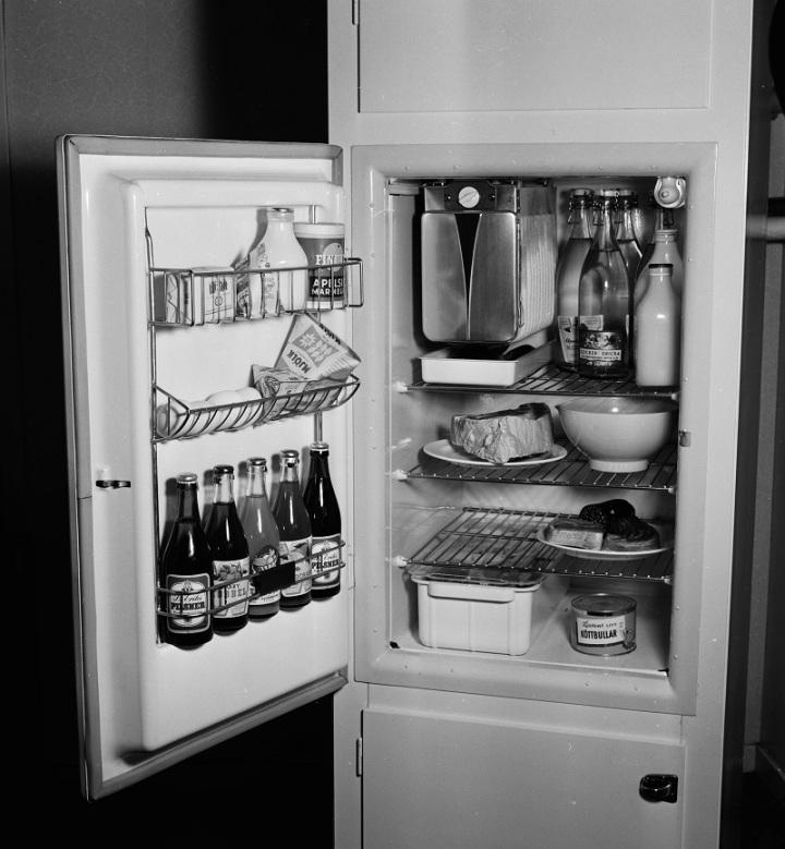 Kylskåp-50tal
