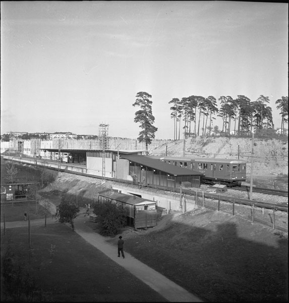 Tbanestation-Blåsut1950